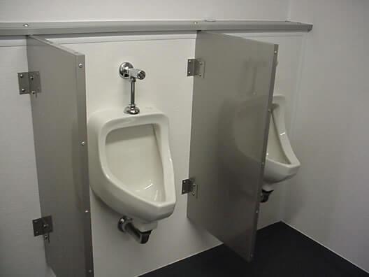 silver-urinal